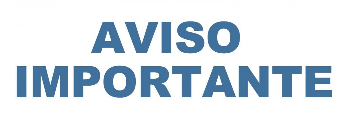 AVISO ADMISION ASPIRANTES NUEVO INGRESO 2020-2021